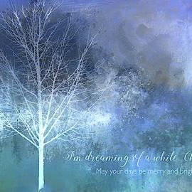 Terry Davis - White Christmas Card