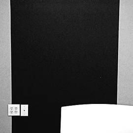 White, Gray, Black Wall by Constance Lowery
