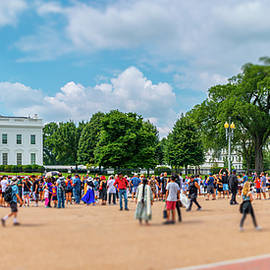 White House Tourists by SR Green