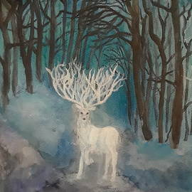 White Stag by Jennie Hallbrown