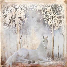 White Unicorn by Elisabeth Lucas