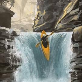White Water Kayaking by Sassan Filsoof