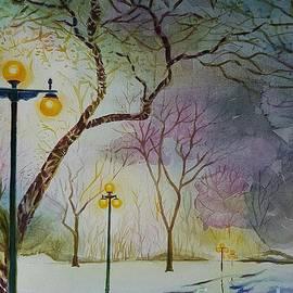 Manju Chau - White winter
