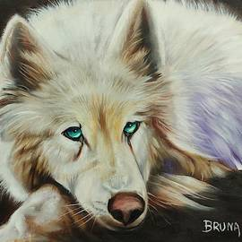 White Wolf by Bruna CHRISTIAN