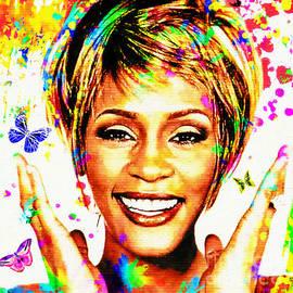 Whitney Houston by Tina LeCour