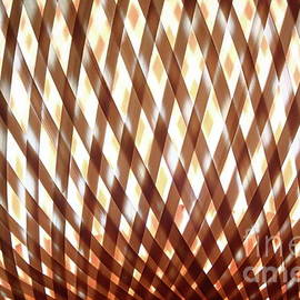 Wicker glowing background by Gregory DUBUS
