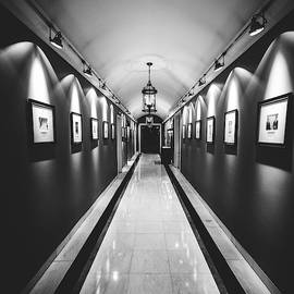 Wide Angle Long Corridor Diminishing Perspective by Alexandre Rotenberg