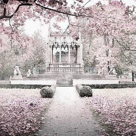 Wilanow Gardens #3 Monochromatic by Slawek Aniol