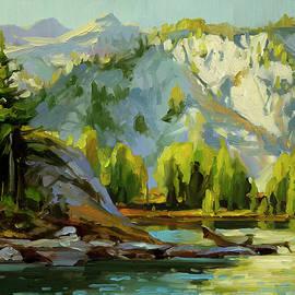 Wilderness Lake by Steve Henderson
