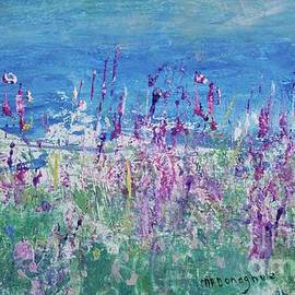 Wildflower Fields on Northeast Travels  by Patty Donoghue
