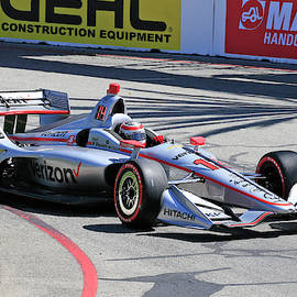 Will Power in Turn 3 by Shoal Hollingsworth