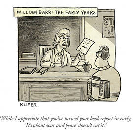 William Barr The Early Years by Peter Kuper