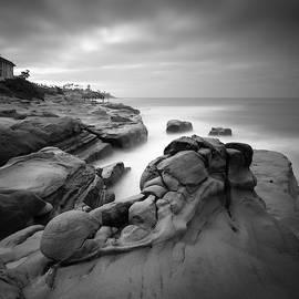 Windansea Beach Rocks by William Dunigan