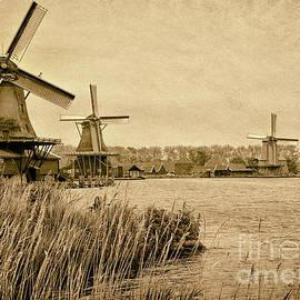 Windmills of Zaanse Schans by Norman Gabitzsch