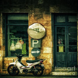 Window Mirror Bike by Flo Photography