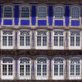 Windows In Blue by Edgar Laureano