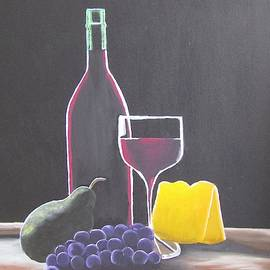 Wine and Cheese by Melanie Lutes