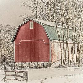 William Norton - Winter Barn