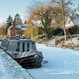 Winter Canal by Tim Gainey