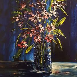 Winter Flora Escape             2519 by Cheryl Nancy Ann Gordon