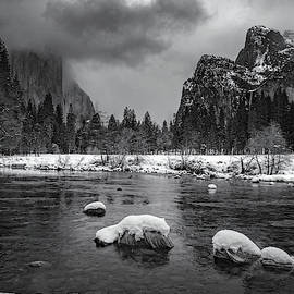 Winter Morning In Yosemite by Cat Connor