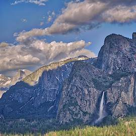 Winter Remnants In Yosemite by Lynn Bauer