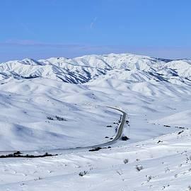 Michael Morse - Winter Road Through Idaho