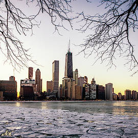 Winter Skyline by Framing Places