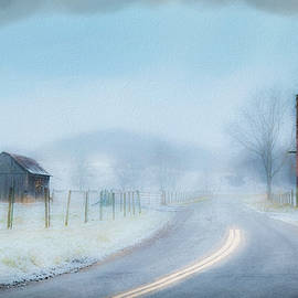 Winter Squall by Jim Love