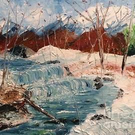 Winter Stream by Denise Tomasura