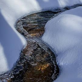 Winter Stream. by Jeff Sinon