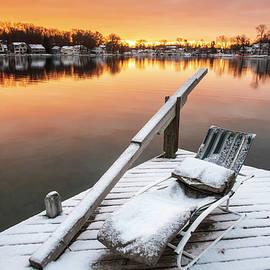 Winter Sunrise on Gull Lake No. 2 by Mary Lee Dereske