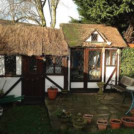 James Irons - This is my studio on the back garden