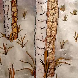 Winter Trees by Robert Hilger