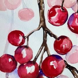 Winterberries IV by Laurel Adams