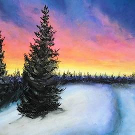 Winter's escape by Jen Shearer