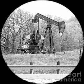 Wintry Pumpjack by Imagery by Charly
