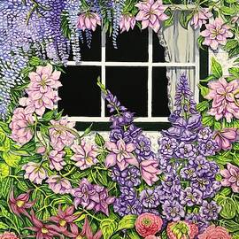 Wisteria Cottage by Carol Barber
