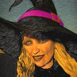 Witch Baba Yaga by Joaquin Abella