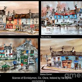 Wobbly Ennistymon by Val Byrne