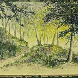 Wooded Path by Carolyn Rosenberger