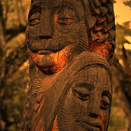 Wooden Couple by Bliss Of Art