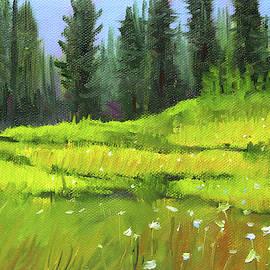 Woodland Meadow by Nancy Merkle