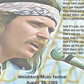 Woodstock Tribute by William Butman