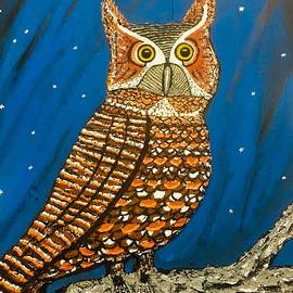 Woody The Great Horned Owl by Jeffrey Koss