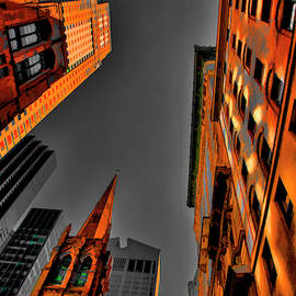 Wow NY Architecture Wow Factor  by Chuck Kuhn