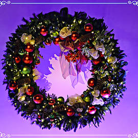 Christmas Wreath Reflections