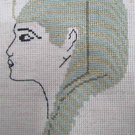 X Stich  Emily Rose. by Joyce Woodhouse