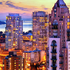 Yaletown and English Bay Vancouver by Amyn Nasser