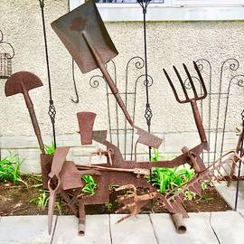 Yard Art by Stephanie Moore
